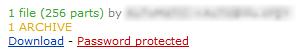 Passwort Schutz bei Usenet Inhalten