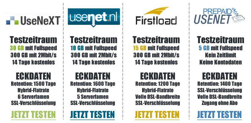 Usenet Anbieter
